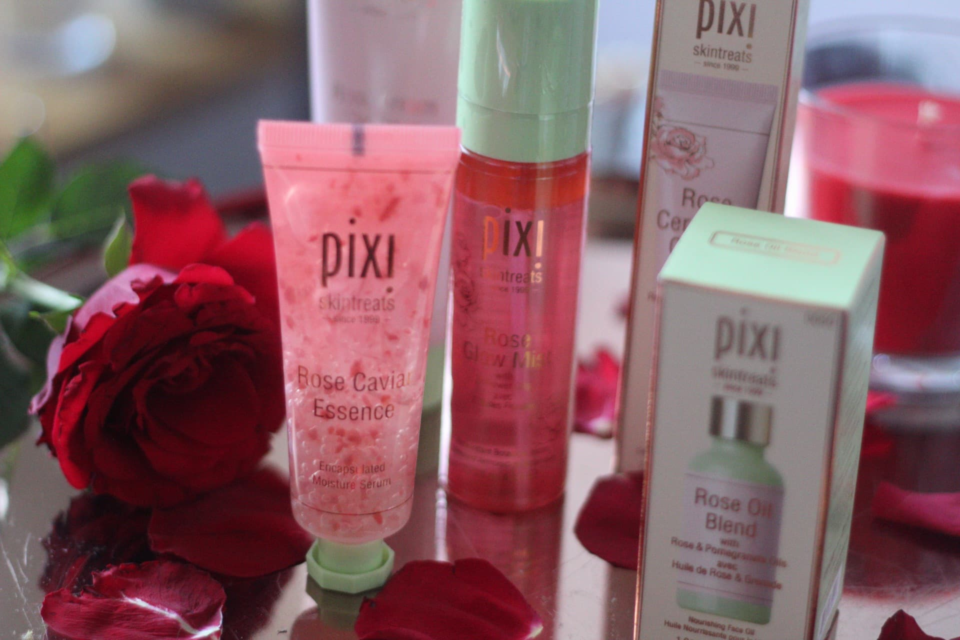 pixie rose skincare beauty