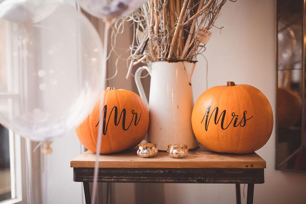 Autumn / Halloween wedding